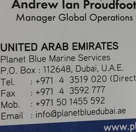 Andrew Arab Proudfoot